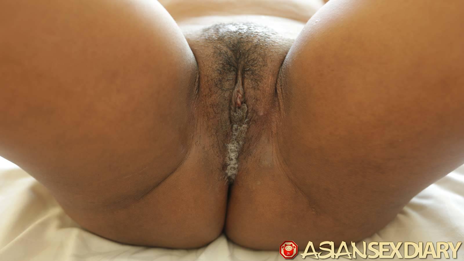 Black pussy creampie pics