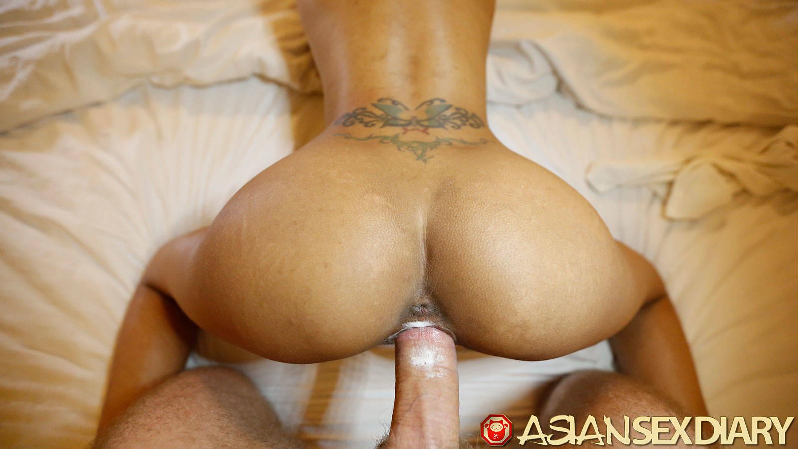Asian ass n pussy