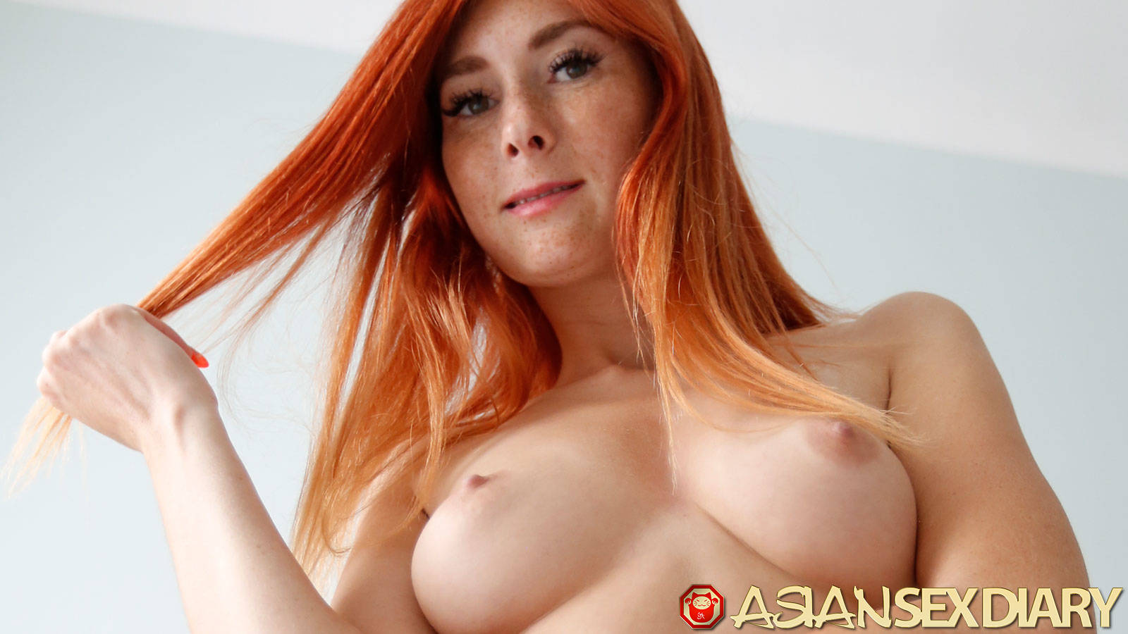 Redhead With Hard Nipples
